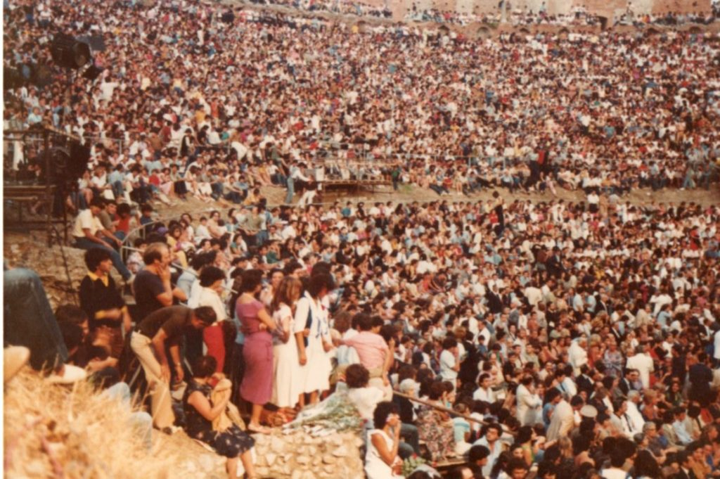 1980, Taormina